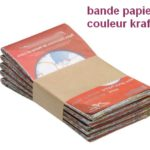 bande papier banderoleuse de table
