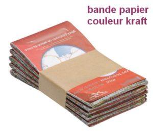 bande papier banderoleuse de table