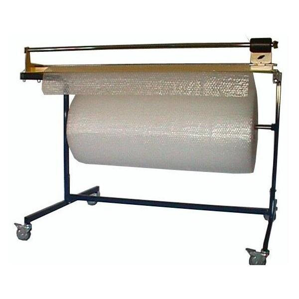 devidoir simple avec coupe pour papier bulles, plastique, kraft ondulé
