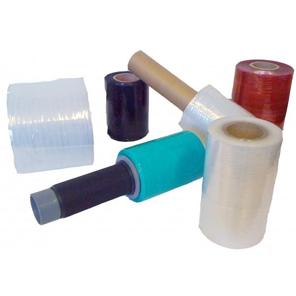 film manuel mini bobine transparent et couleur pour emballer des lots ou petits colis.