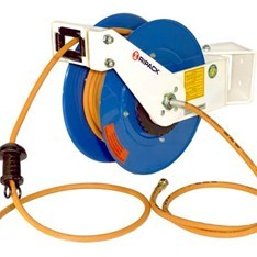 Dérouleur de tuyau de gaz
