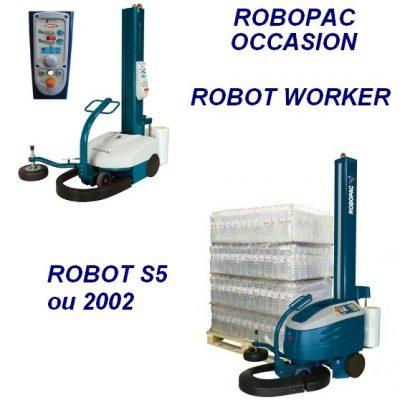 Le robot d'occasion est vérifié et remis en état avant de vous êtes proposé.