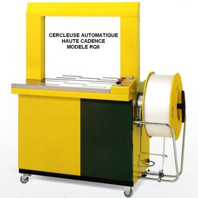 Cercleuse automatique RQ8 robuste et fiable