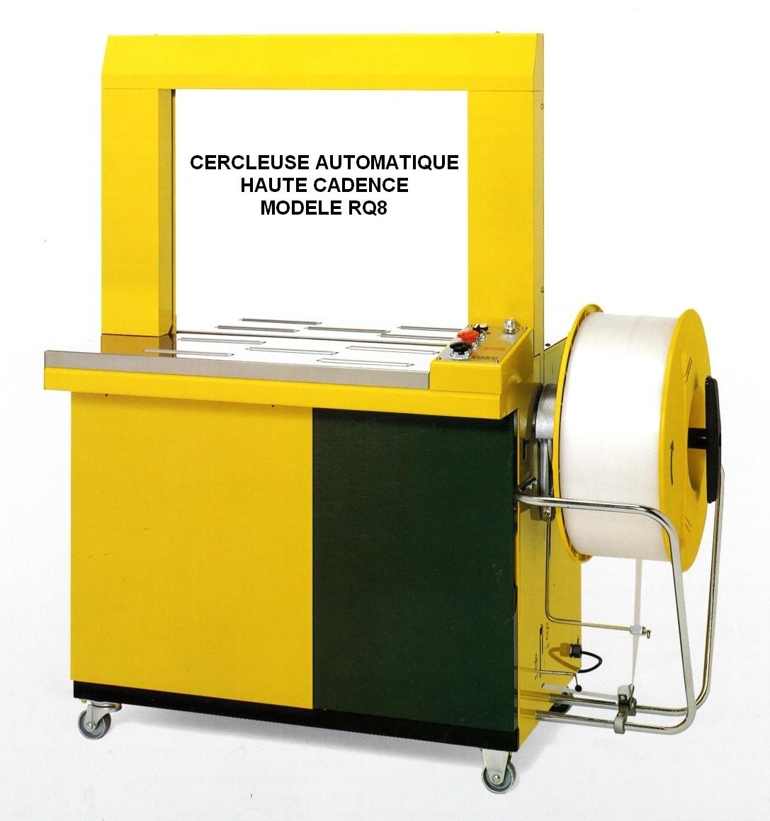 Cercleuse automatique RQ8 robuste et fiable