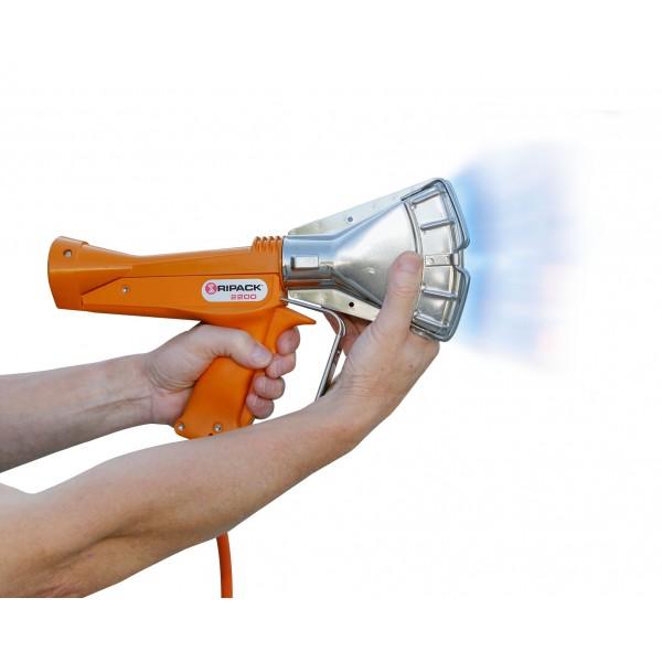 Pistolet de rétraction RIPACK, avec une multitude d'accessoires